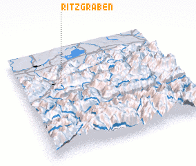 3d view of Ritzgraben