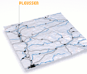 3d view of Pleußen