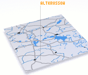3d view of Alt Krüssow