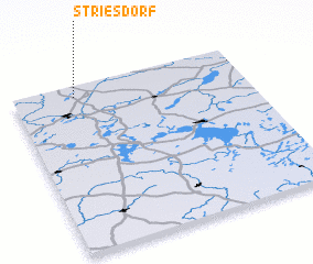 3d view of Striesdorf