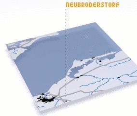 3d view of Neu Broderstorf