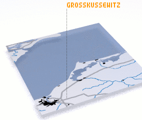 3d view of Groß Kussewitz