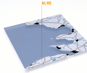 3d view of Alme