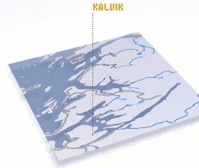 3d view of Kalvik