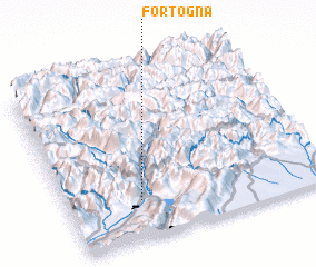 3d view of Fortogna