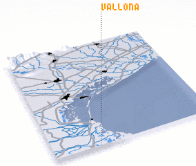 3d view of Vallona