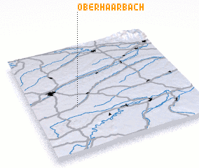 3d view of Oberhaarbach