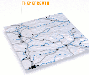 3d view of Themenreuth