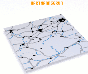 3d view of Hartmannsgrün