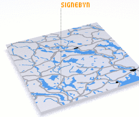 3d view of Signebyn