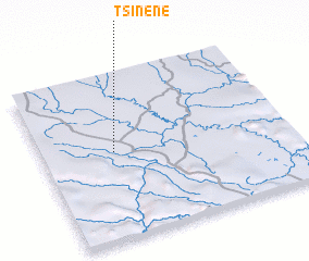 3d view of Tsinéné