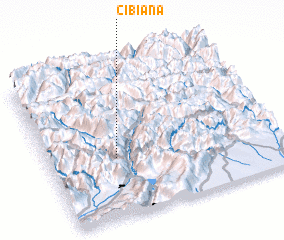 3d view of Cibiana