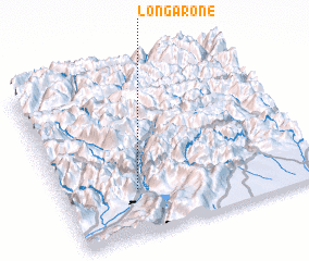 3d view of Longarone