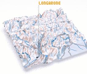 3d view of Longarone