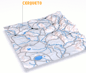 3d view of Cerqueto