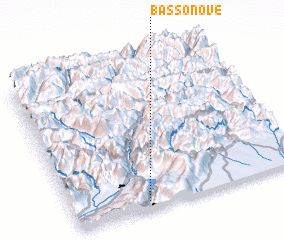 3d view of Basso Nove
