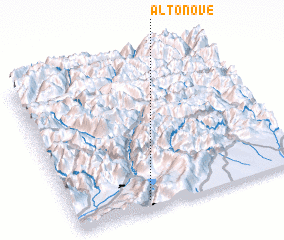 3d view of Alto Nove