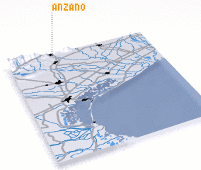 3d view of Anzano