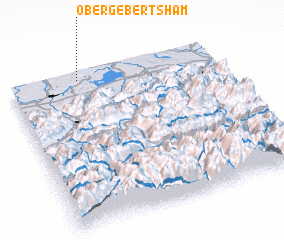 3d view of Obergebertsham