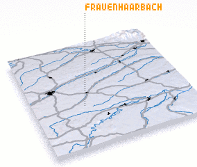 3d view of Frauenhaarbach