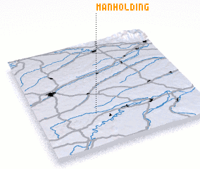 3d view of Manholding