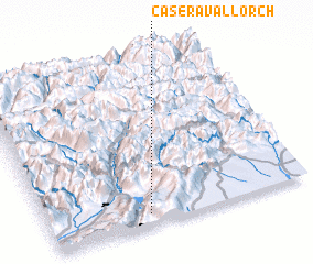 3d view of Casera Vallorch