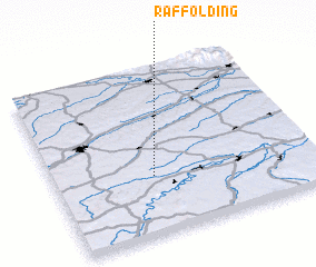 3d view of Raffolding