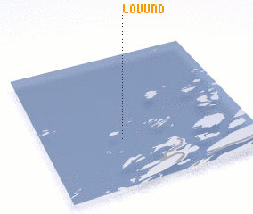 3d view of Lovund
