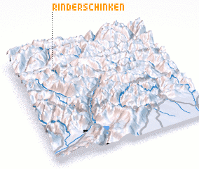 3d view of Rinderschinken