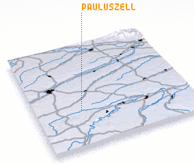 3d view of Pauluszell