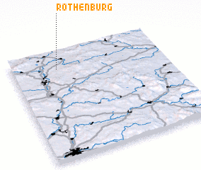 3d view of Rothenbürg