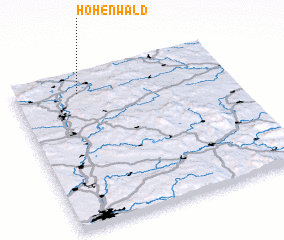 3d view of Hohenwald