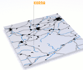 3d view of Korna