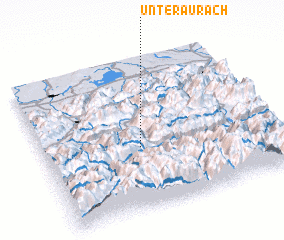 3d view of Unteraurach