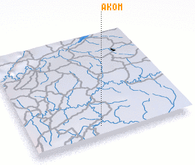 3d view of Akom