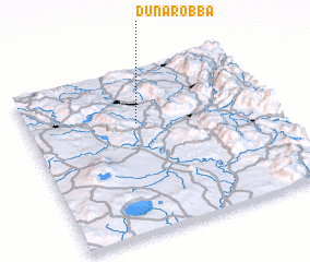 3d view of Dunarobba