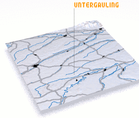 3d view of Untergauling