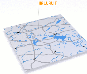 3d view of Hallalit