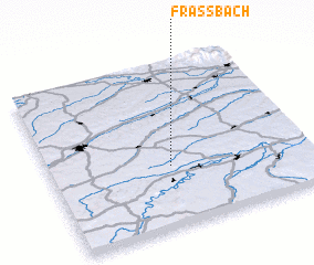 3d view of Fraßbach