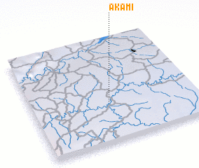 3d view of Akam I