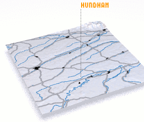 3d view of Hundham