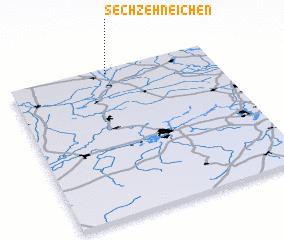 3d view of Sechzehneichen