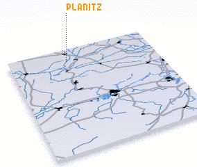3d view of Plänitz