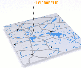 3d view of Klein Bäbelin