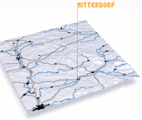 3d view of Mitterdorf