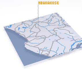 3d view of Mbaka-Kose