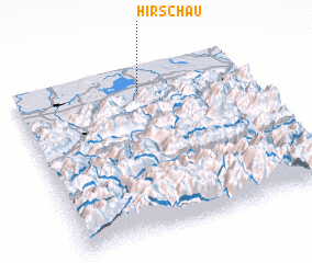 3d view of Hirschau