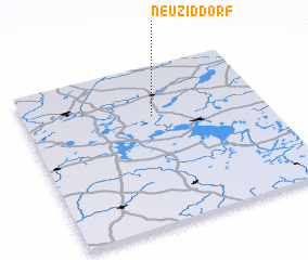 3d view of Neu Ziddorf