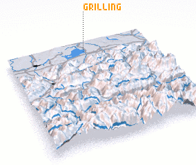 3d view of Grilling