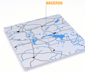 3d view of Hagenow